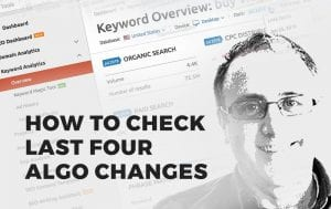 How To Check Last Four Algo Changes